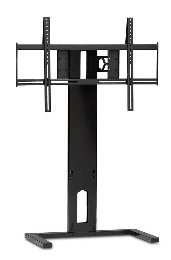 Arena black flat panel TV mount