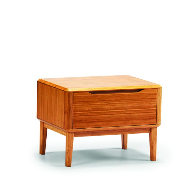 Currant bamboo 1-drawer nightstand