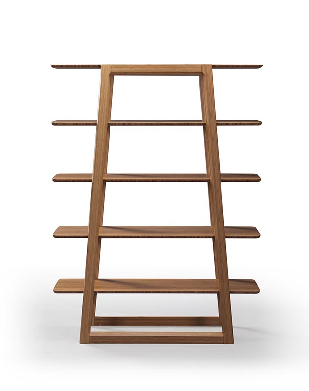 Currant bamboo bookcase