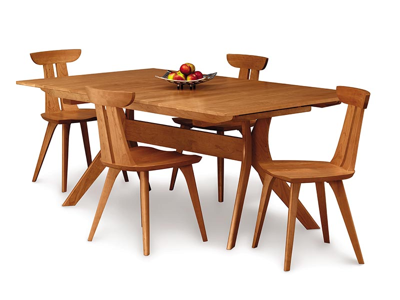 Audrey solid cherry dining table