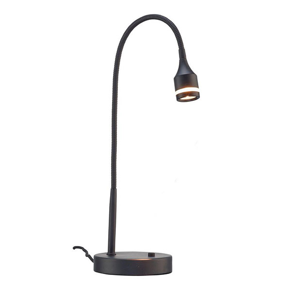 Prospect black LED lamp