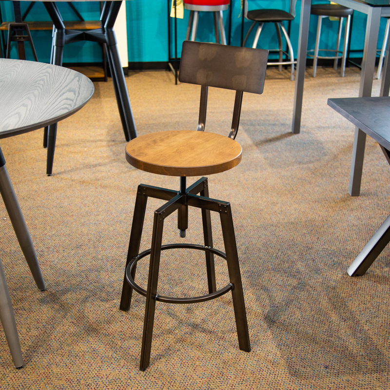 Architect adjustable height stool