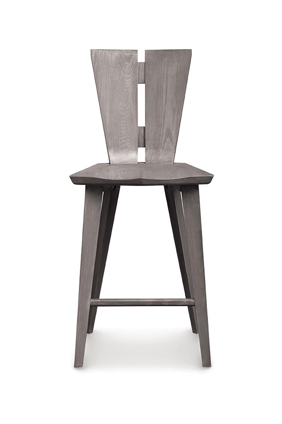 Axis solid ash barstool