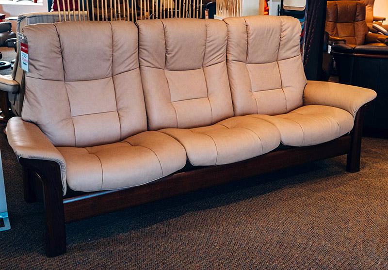 Stressless Buckingham highback sofa