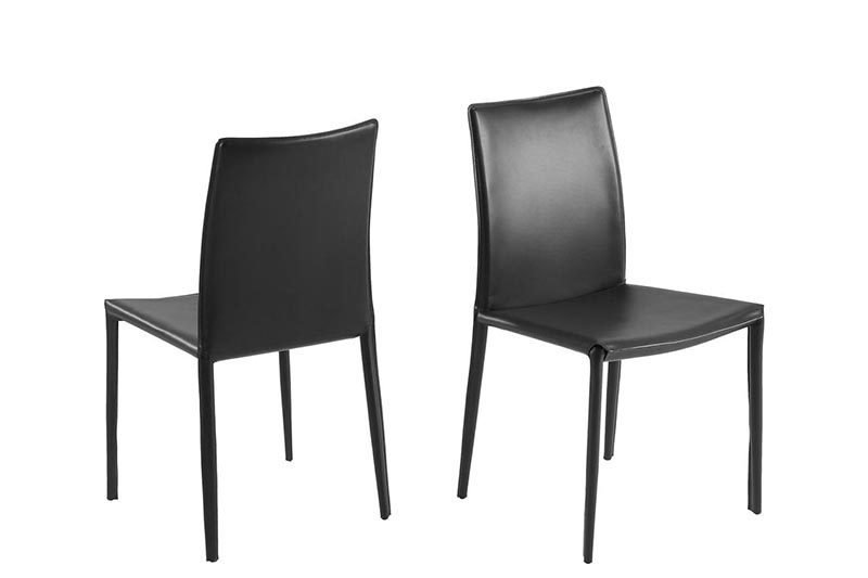Andrew black dining chair