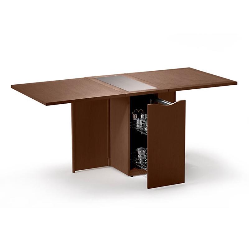 SM 101 walnut dining table