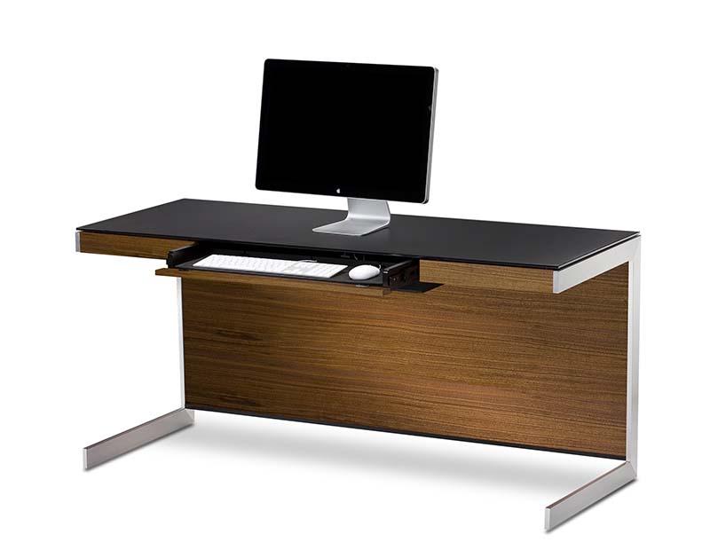 Sequel 6001 walnut desk