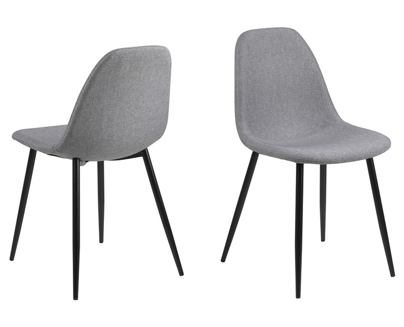 Wilma grey dining chair
