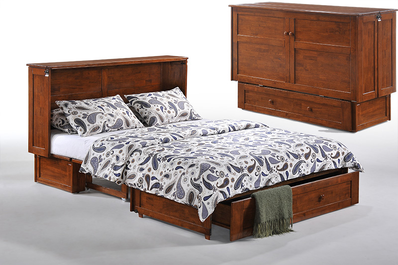 Clover queen cabinet bed