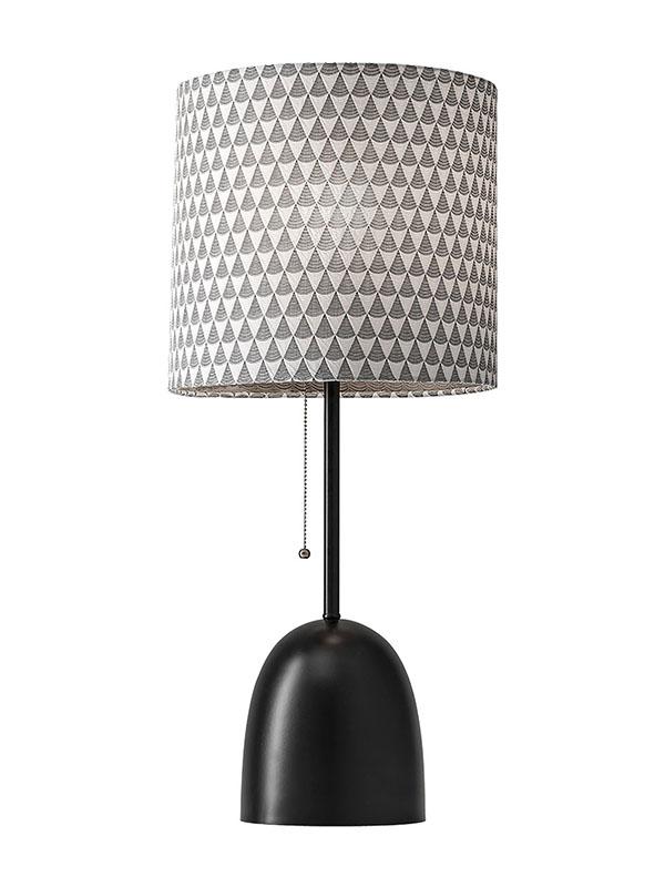 Lola black table lamp