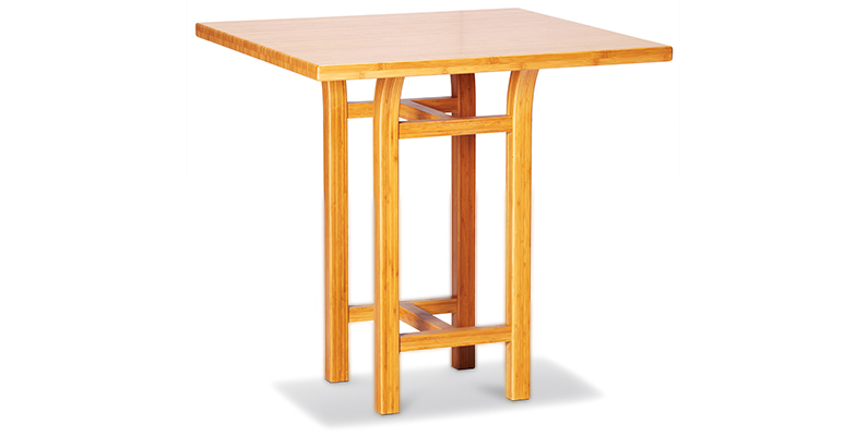 Tulip bamboo counter-height table