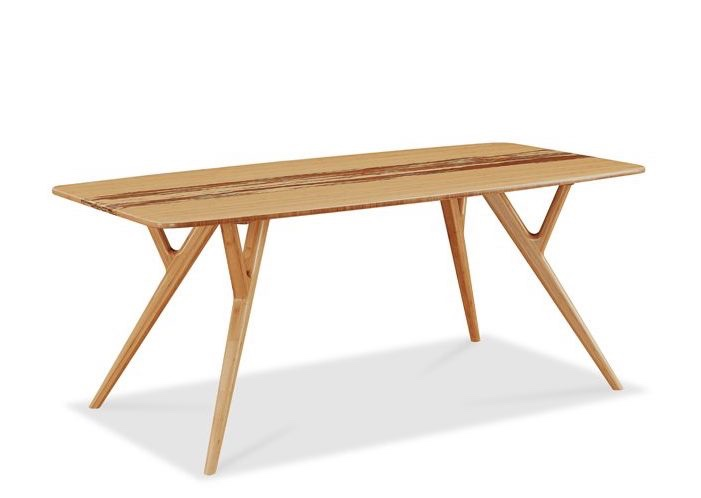 Azara bamboo dining table