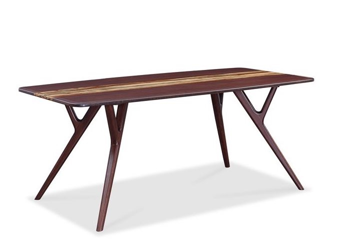 Azara bamboo dining table in sable finish