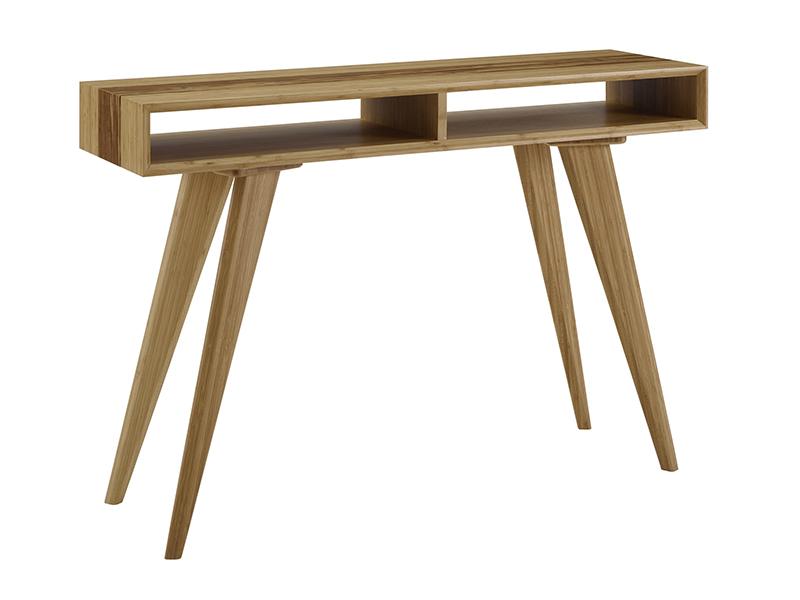 Azara Tiger bamboo console table
