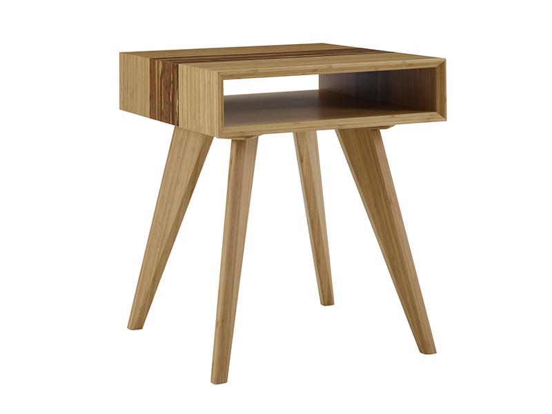 Azara Tiger bamboo end table