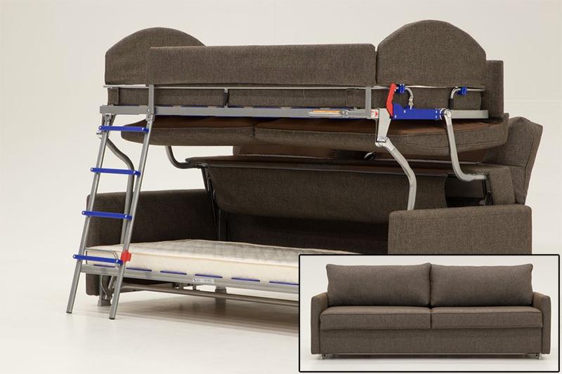 Elevate bunkbed sofa sleeper