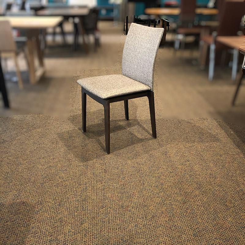 Danish walnut dining chair