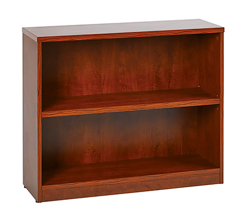 Cherry 2-shelf bookcase