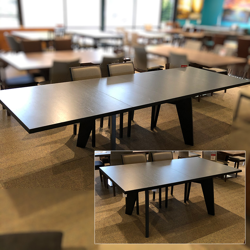SM-13 wenge dining table
