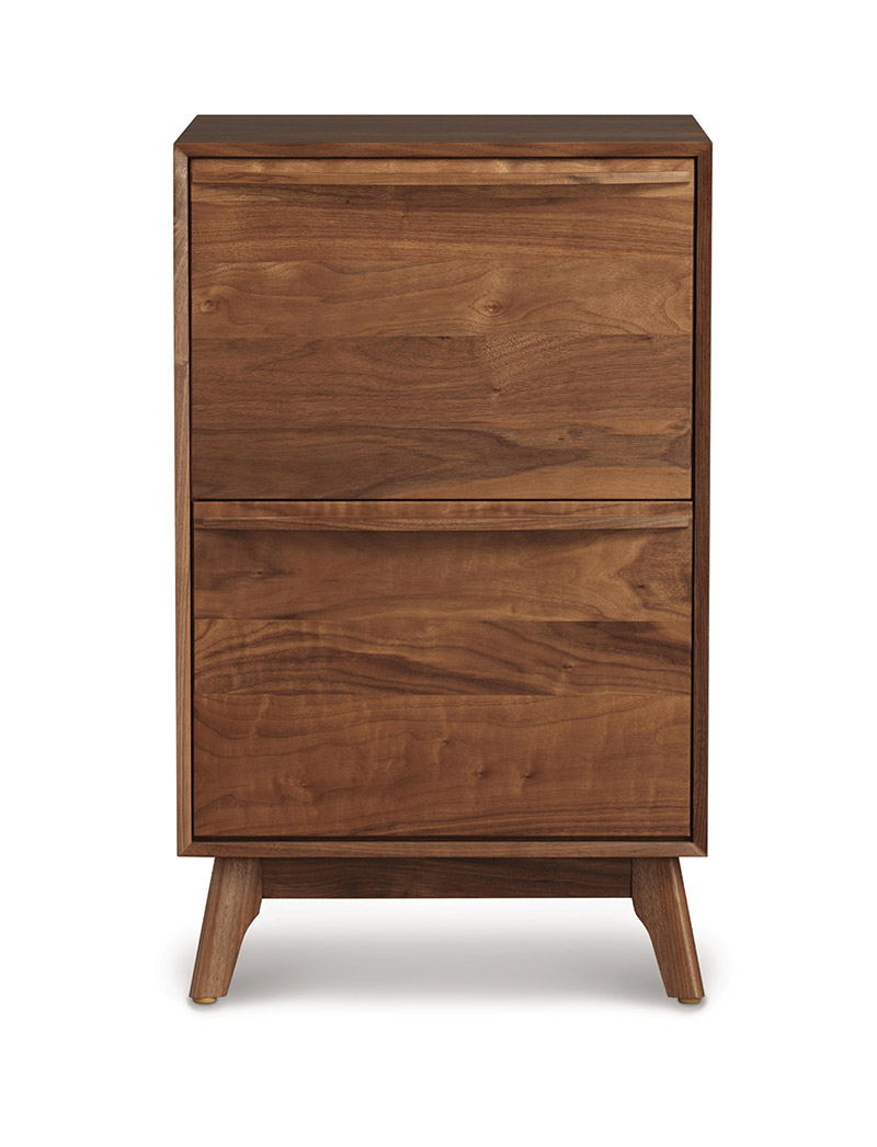 Linear Cubby narrow file cabinet