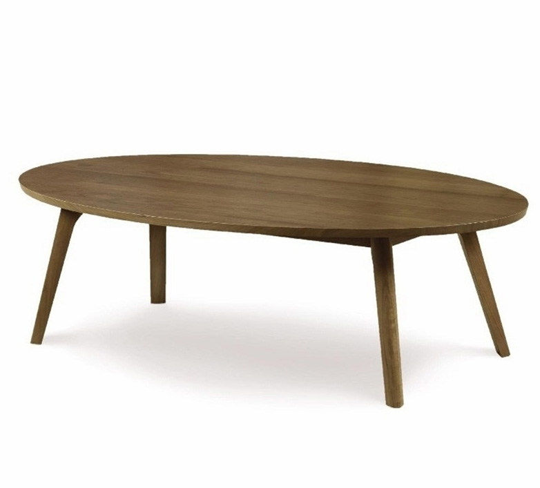 Catalina coffee table in solid black walnut