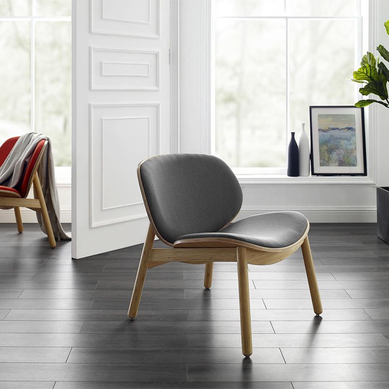 Danica bamboo / grey chair