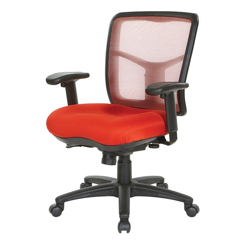 Air Mist Red office chair