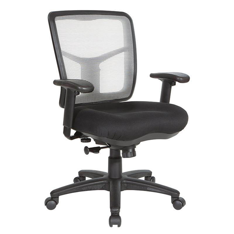 Air Mist black office chair