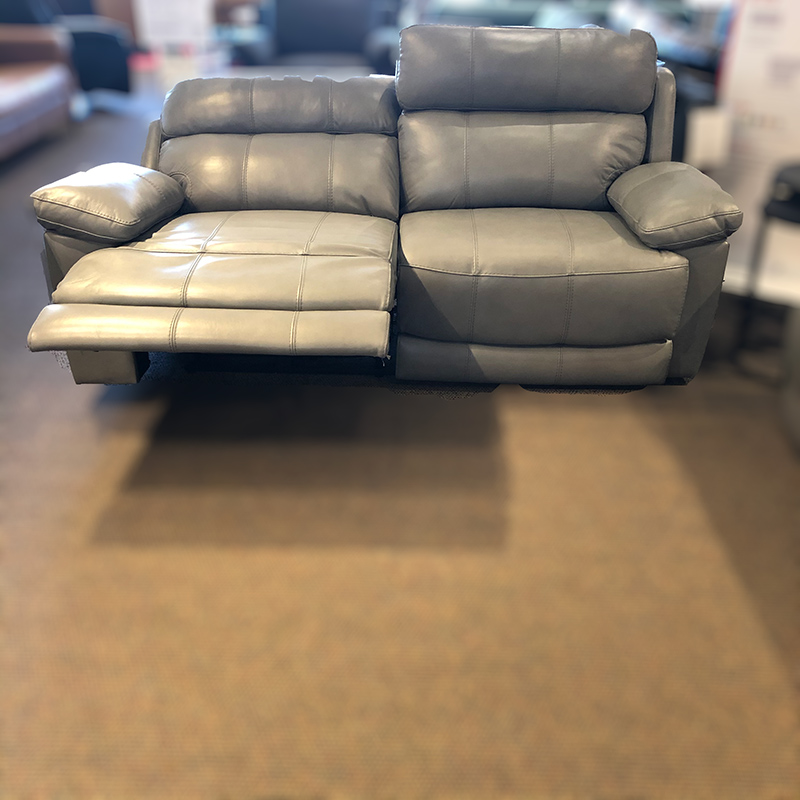 Finley leather power sofa