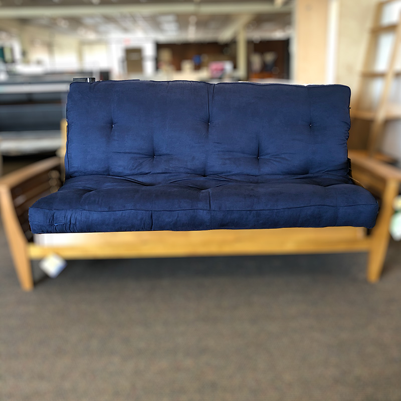 Oceanside navy full futon mattress