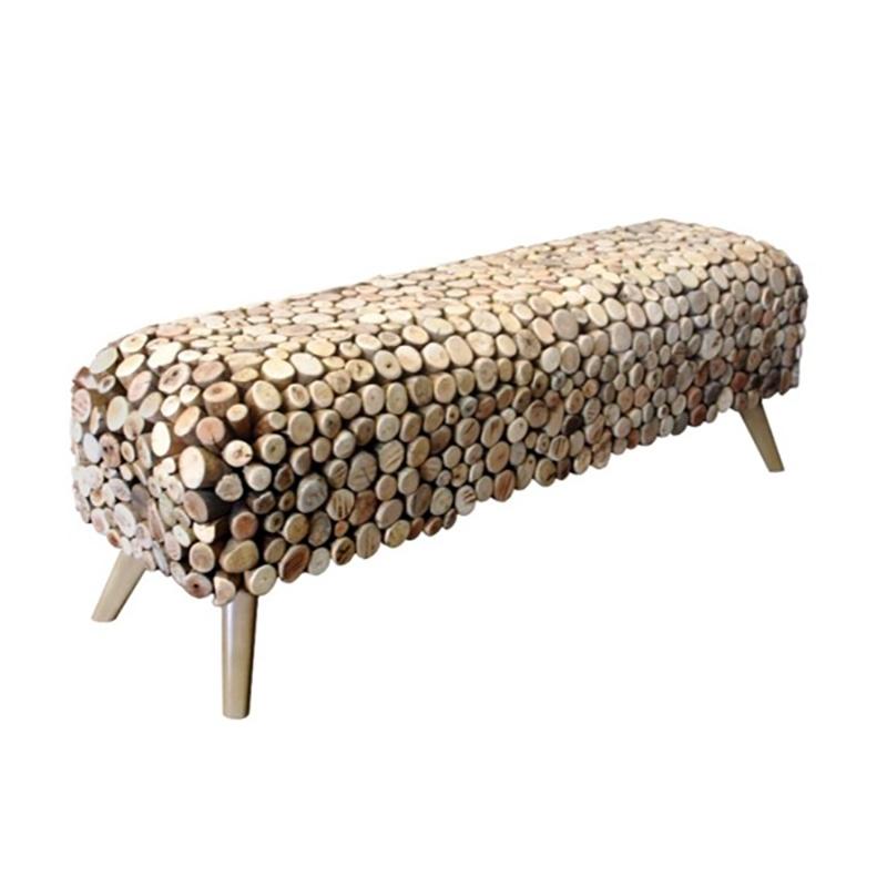 Pebble bench
