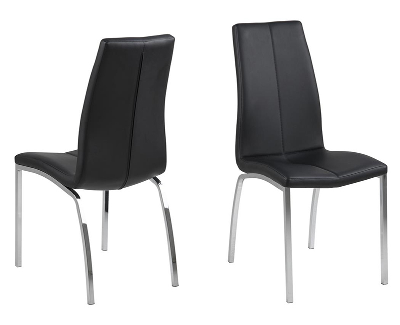 Asama black dining chair