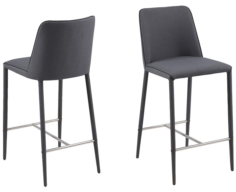Avanja grey counter stool