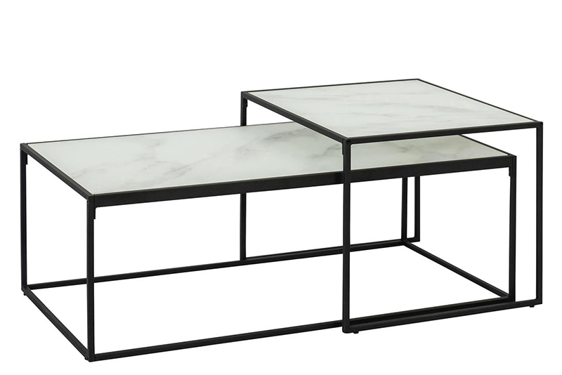 Bolton marble table set