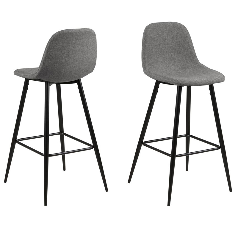 Wilma grey bar stool