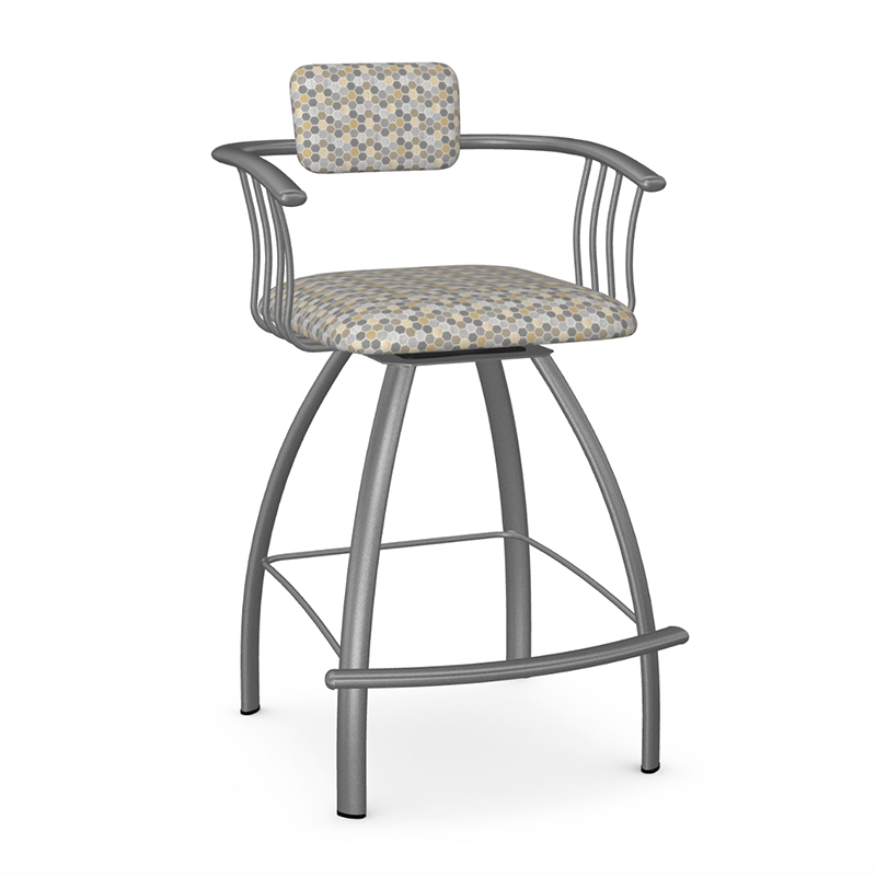 Kriss swivel counter stool