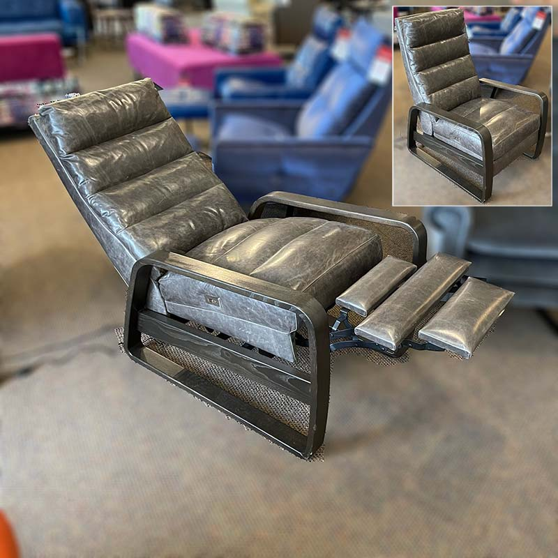 Elton leather recliner