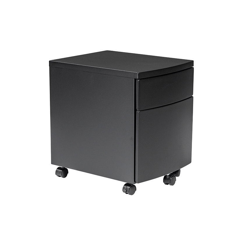 Ingo black filing cabinet