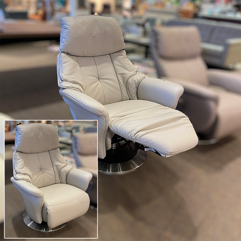 Chester leather recliner