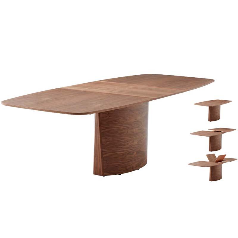 SM 117 walnut dining table