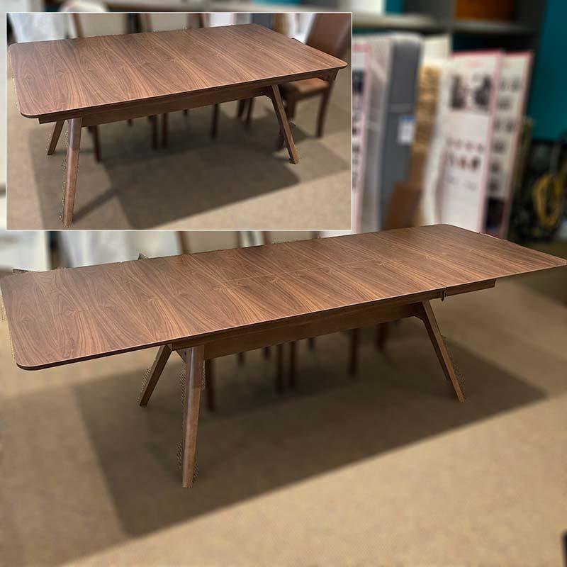SM 10 walnut dining table